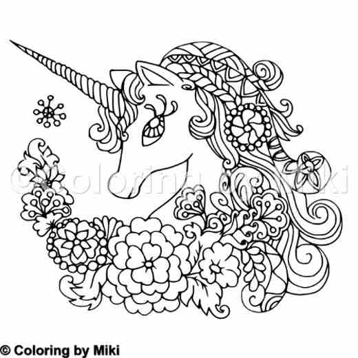 Fantasy Garden Coloring Page 172 Coloring By Miki