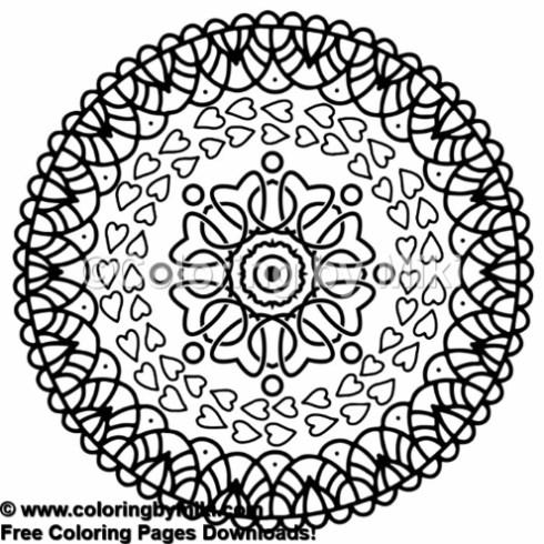 Mandala Coloring Page 1128 Coloring By Miki
